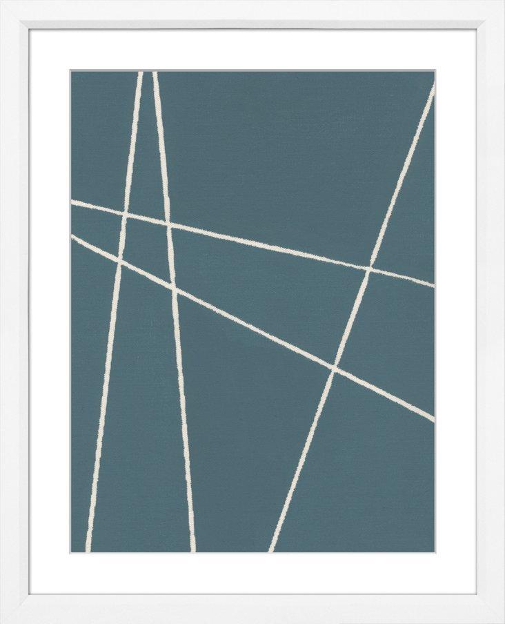 Sea Blue Abstract III