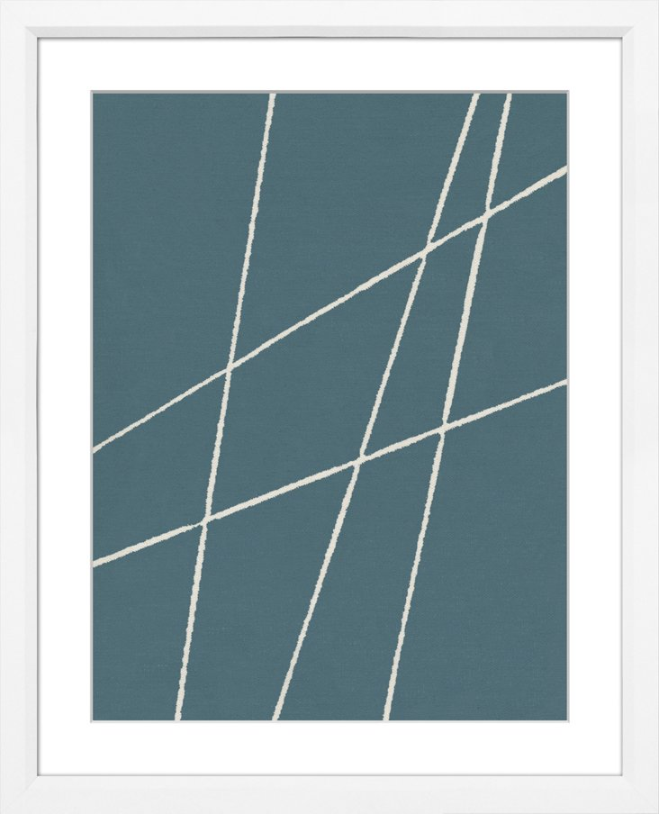 Sea Blue Abstract V