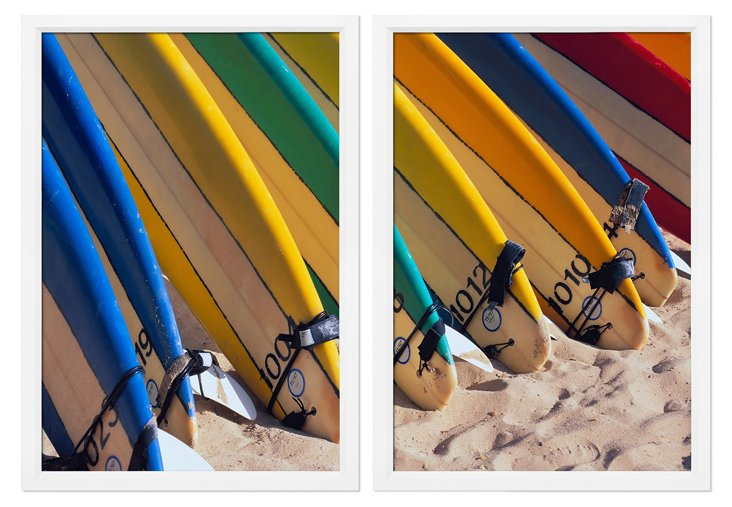 Surfboards Diptych