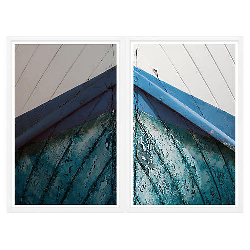 Boat Bow I Diptych