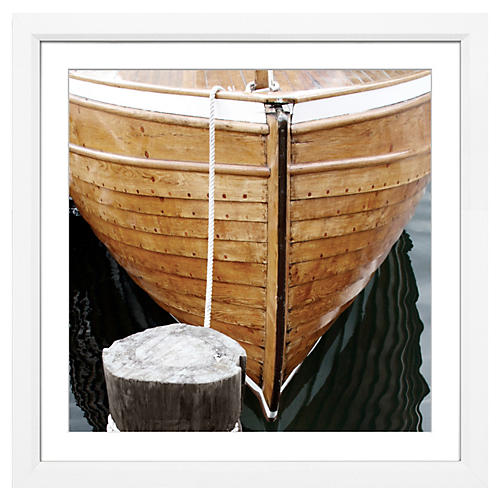 Wooden Boat Bow