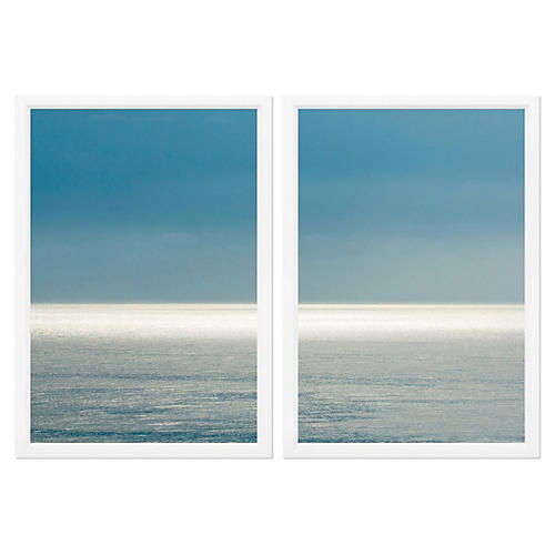 Sea Horizon Diptych
