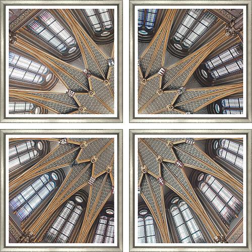 William Stafford, Dome Interior III (4-Pc)