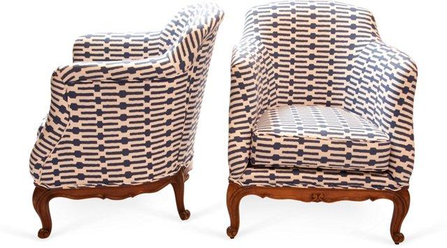 Newport Chairs, Pair