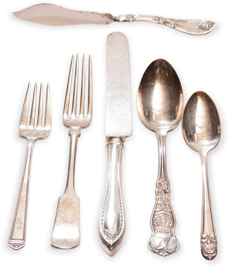 Flatware Collection, 6 Pcs. I
