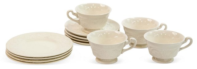 Wedgwood Dessert Collection, Svc. for 4