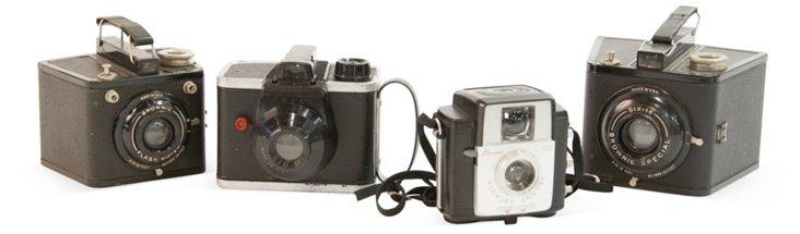 Vintage Cameras, Set of 4, I
