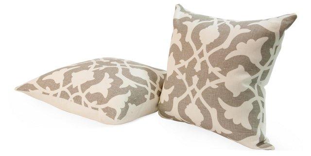 Barbara Barry Pillows, Pair