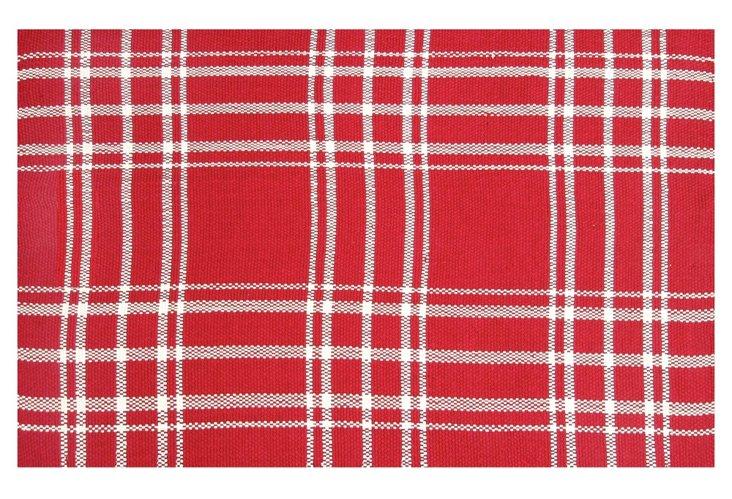 8' x 10' Kelton Outdoor Rug, Red