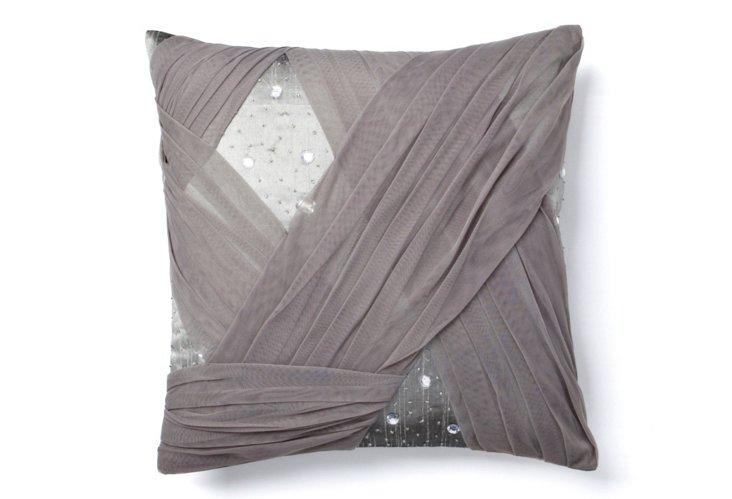 Lorin 18x18 Pillow, Frost Gray