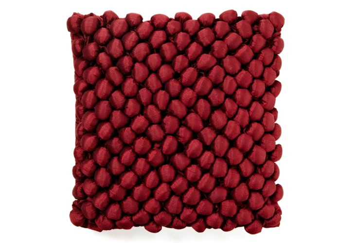 Ellison 16x16 Pillow, Red