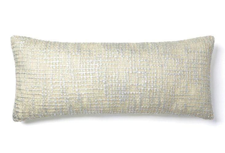 Nico 8x20 Pillow, White