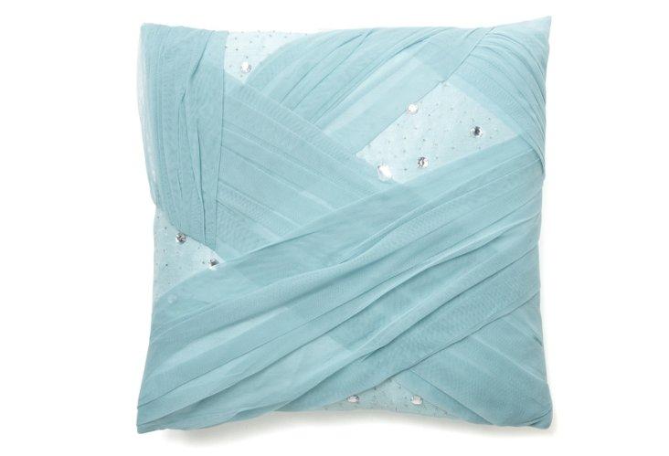 Lorin 18x18 Pillow, Silver Blue