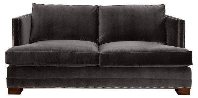"""Moore 94"""" Sofa, Graphite"""