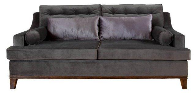 "Bravo 98"" Sofa, Graphite"