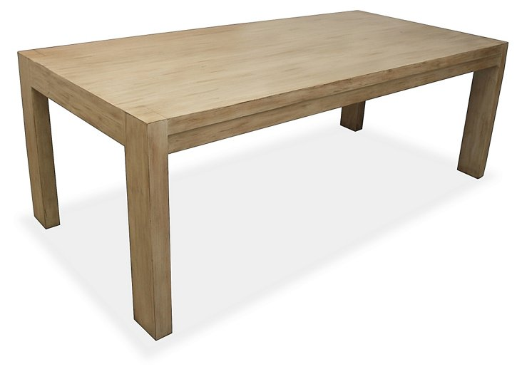 Greenwich Dining Table, Natural