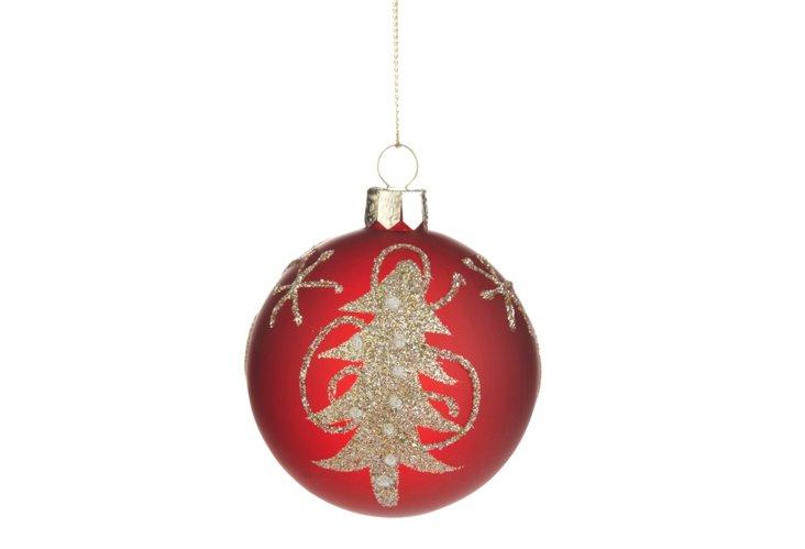 Glitter Tree Ornament