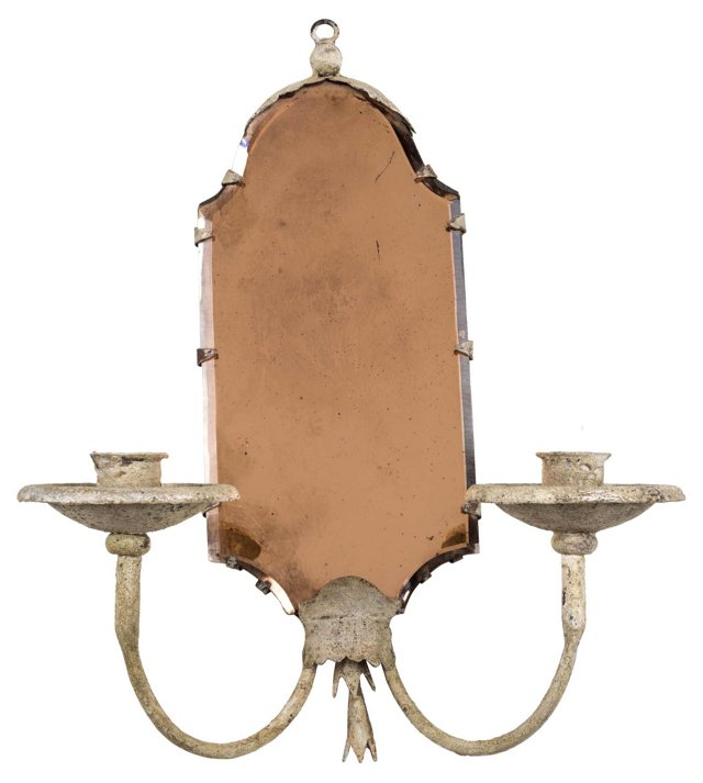 French Mirrored Sconce