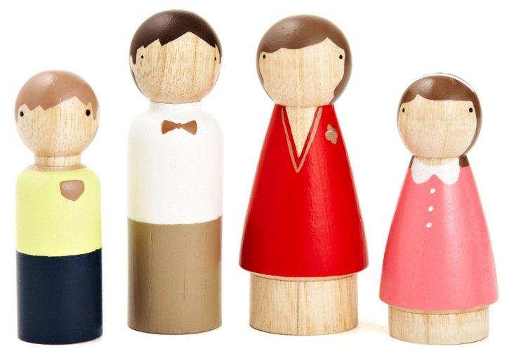 S/4 Sunday Family Dolls