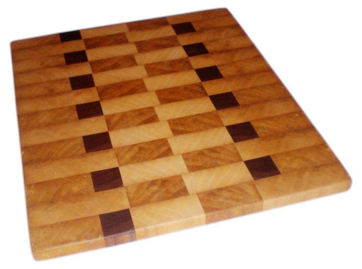 """Cherokee Cutting Board, 11"""" x 9"""""""