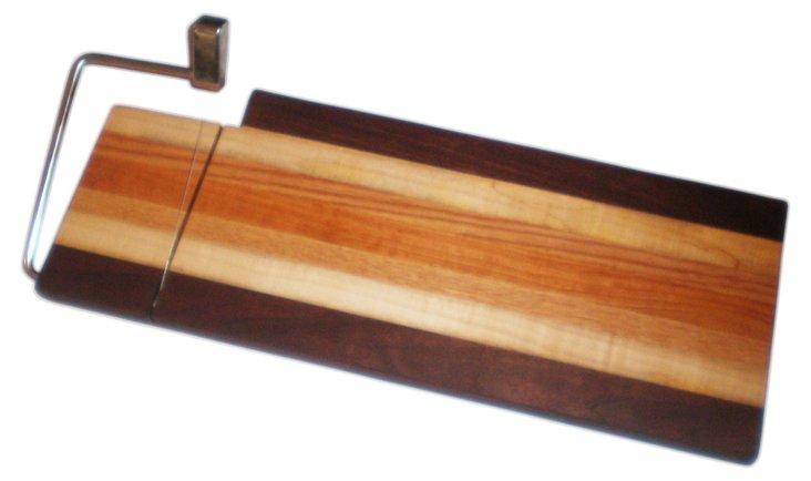 Sandwich Board w/ Cheese Cutter & Walnut