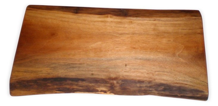 Spalted Maple Live Edge Cutting Board