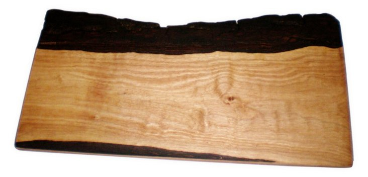 Rustic Walnut Live Edge Board, Cholena
