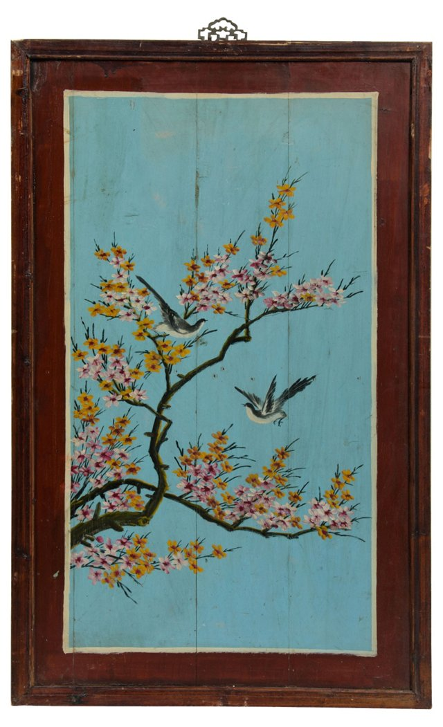 Vintage Chinese Wedding Panel I