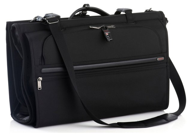 Gen 4 Tri Fold Garment Bag, Black