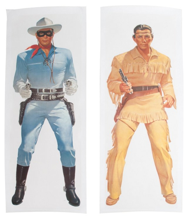 Lone Ranger & Tonto Posters