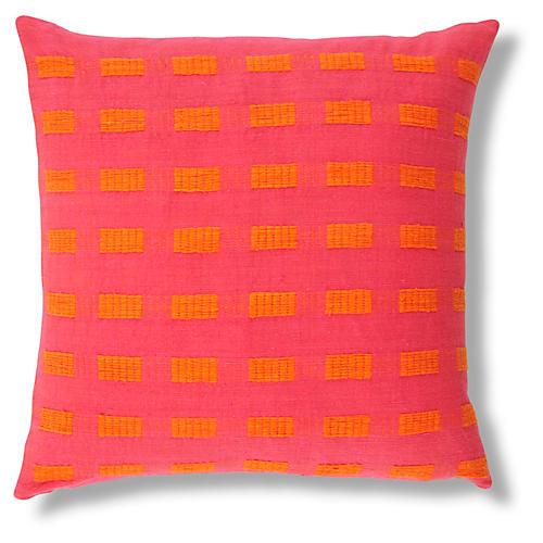 Torch Lily 20x20 Pillow, Orange