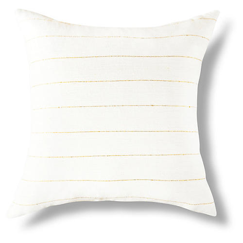 Negus 18x18 Pillow, Gold
