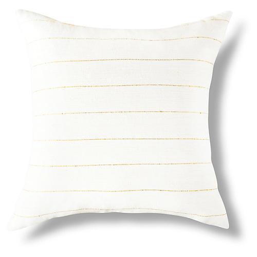 Negus 18x18 Pillow, Gold