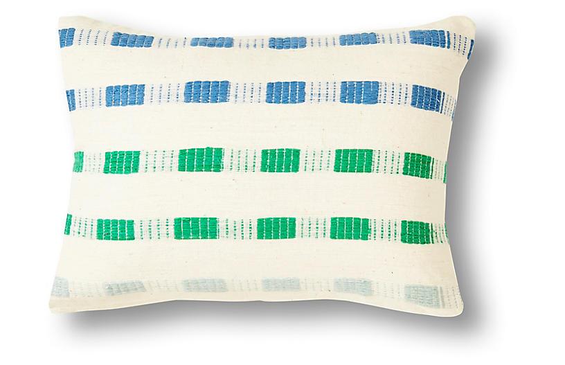 Chuchu 12x16 Pillow, Blue Ombré