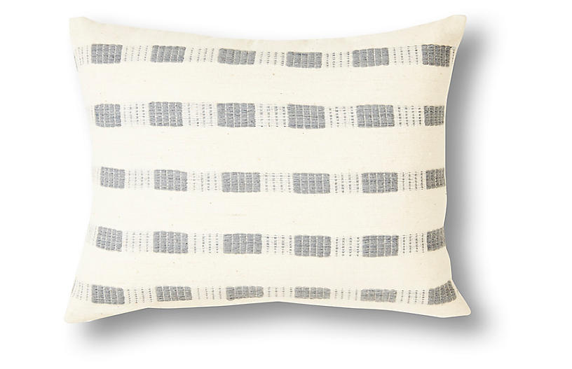 Bertu 12x16 Pillow, Gray
