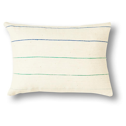 Lili 12x16 Pillow, Blue Ombré
