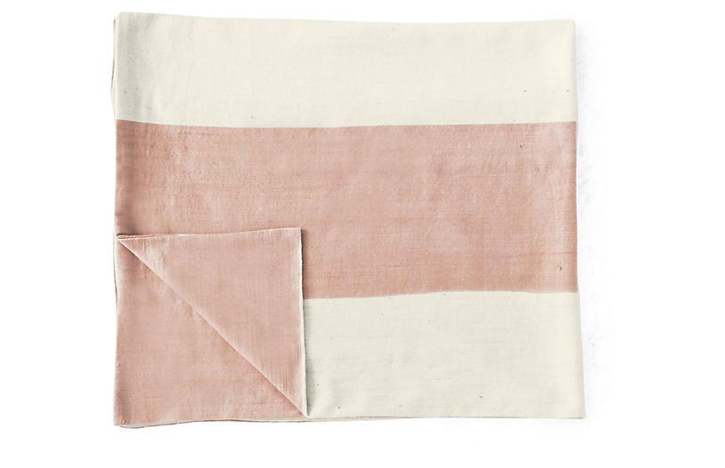 Mamoosh Baby Blanket, Dusty Rose