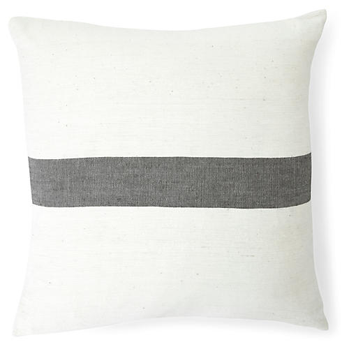 Zelalem 20x20 Pillow, Slate