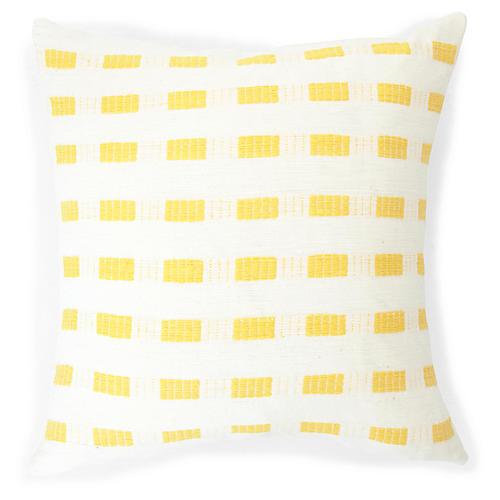 Abyssinian Rose 20x20 Pillow, Sunflower