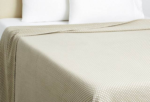 Queen Tile Blanket, Bayleaf