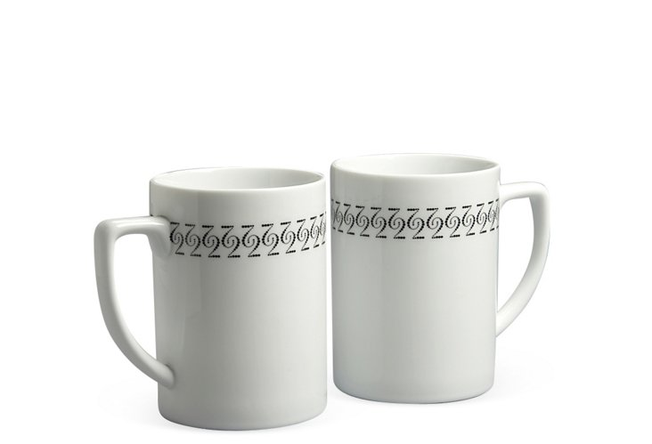Mug Set, Two Pattern
