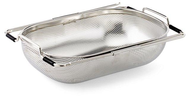Precision Pierced Drainer, Silver