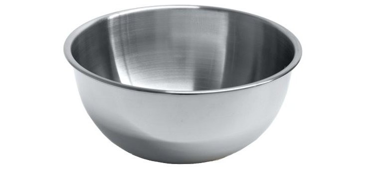 Stainless Steel Mixing Bowl, 8 Qt