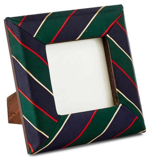 Tie Frame, 3x3, Green
