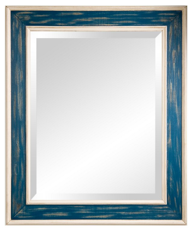 Morgan Mirror, Blue