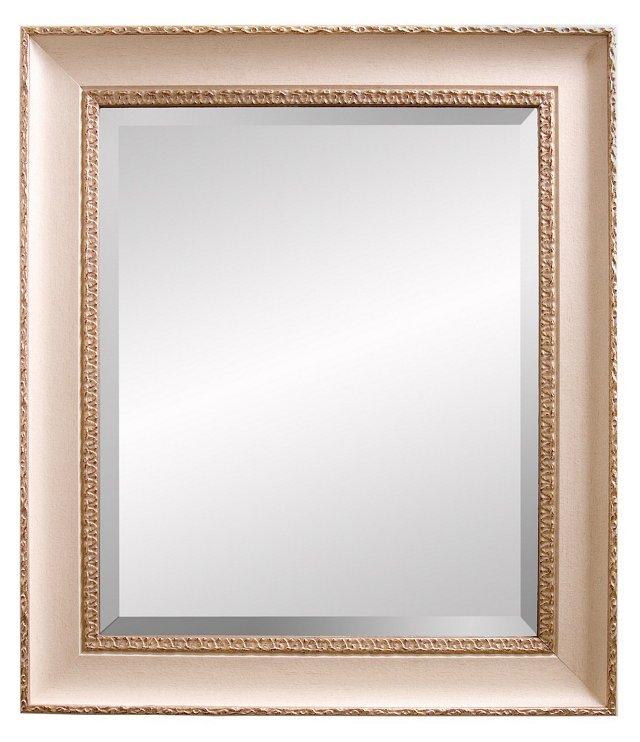 Elizabeth Oversize Mirror, White