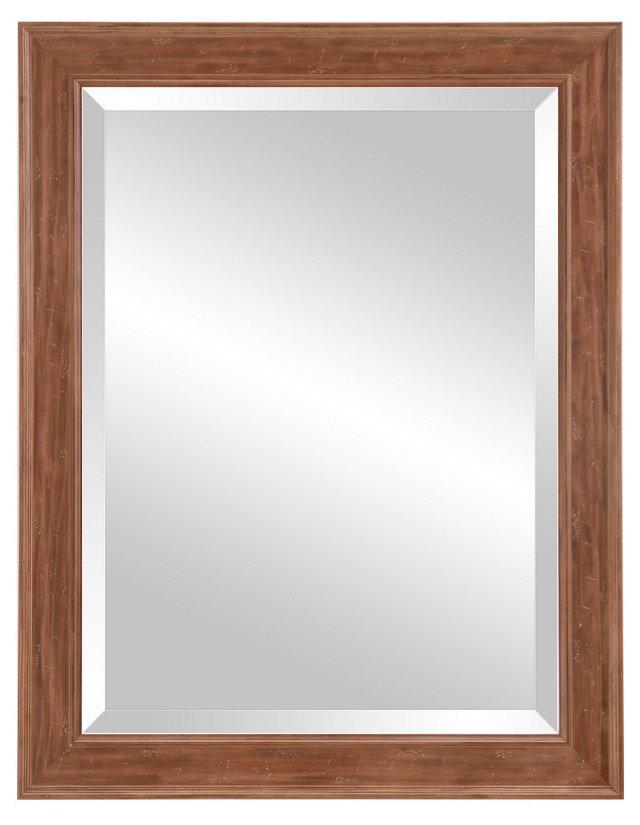 Georgia Oversize Mirror, Natural