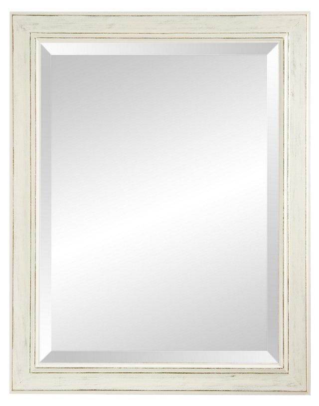 Alessandra Wall Mirror, Pearl