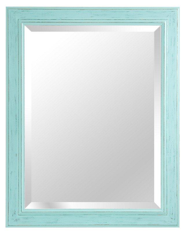 Alessandra Wall Mirror, Light Blue