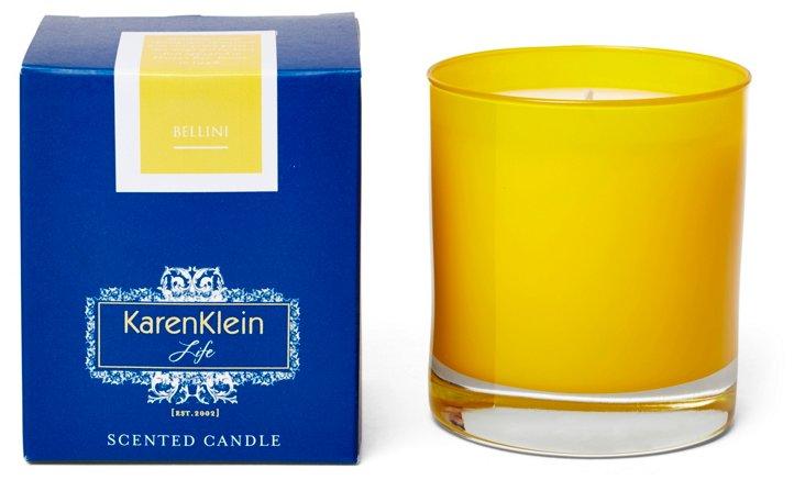 10.25 oz Bellini Candle, Peach